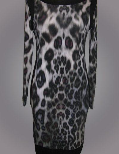 917 Сукня з віскозного трикотажу