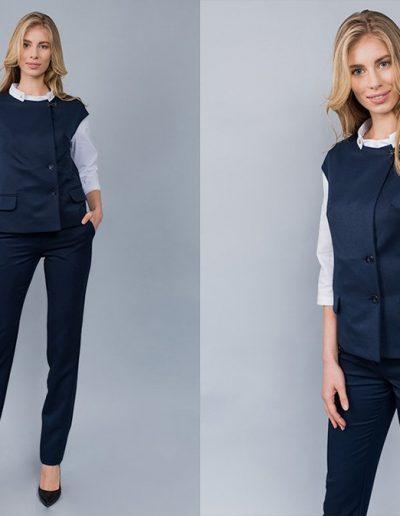 1573 блуза, 1565 жилет